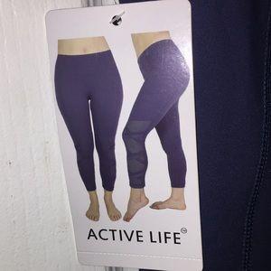 608b39bda6e915 Active Life Pants - Active life women's high performance vented criss